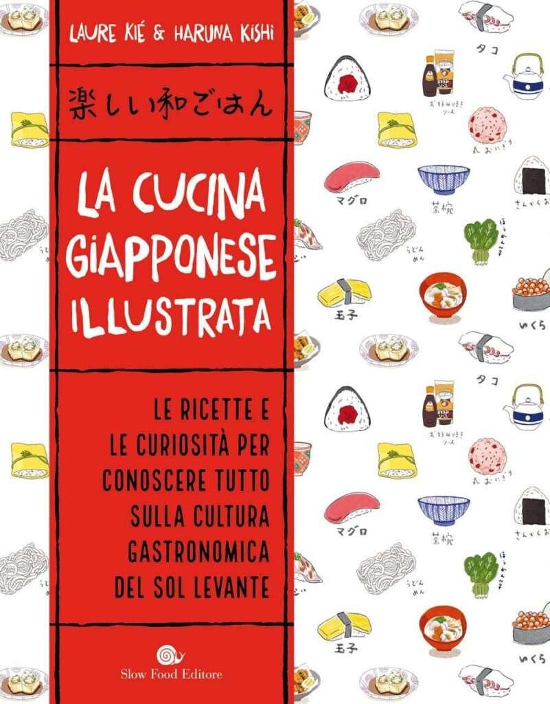 la cucina giapponese illustrata libro